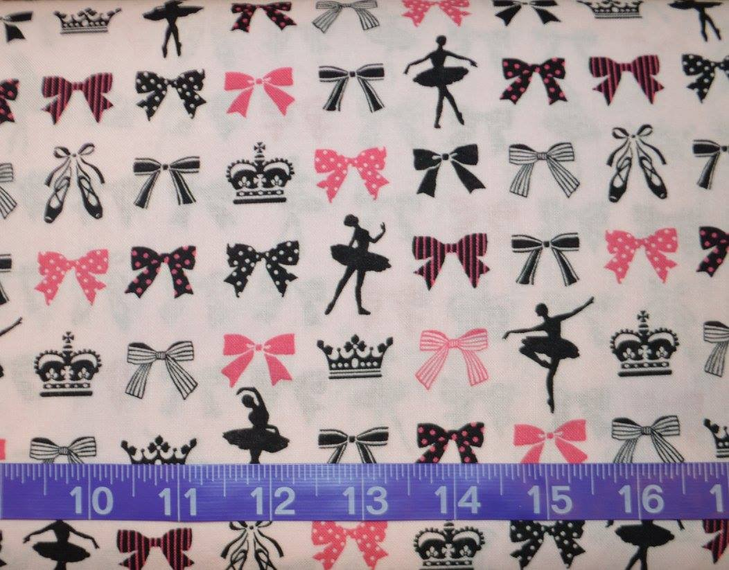Cosmo. Ballerina Bows Soft Pink
