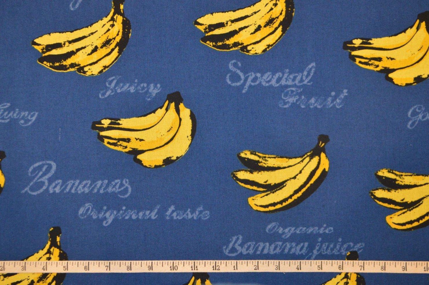 Cosmo. Bananas Cotton/Linen