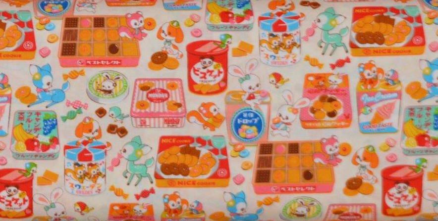 Cosmo Kawaii Animals & Snacks Cream