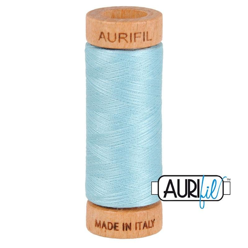 Light Blue Cotton Mako Thread 80wt 280m