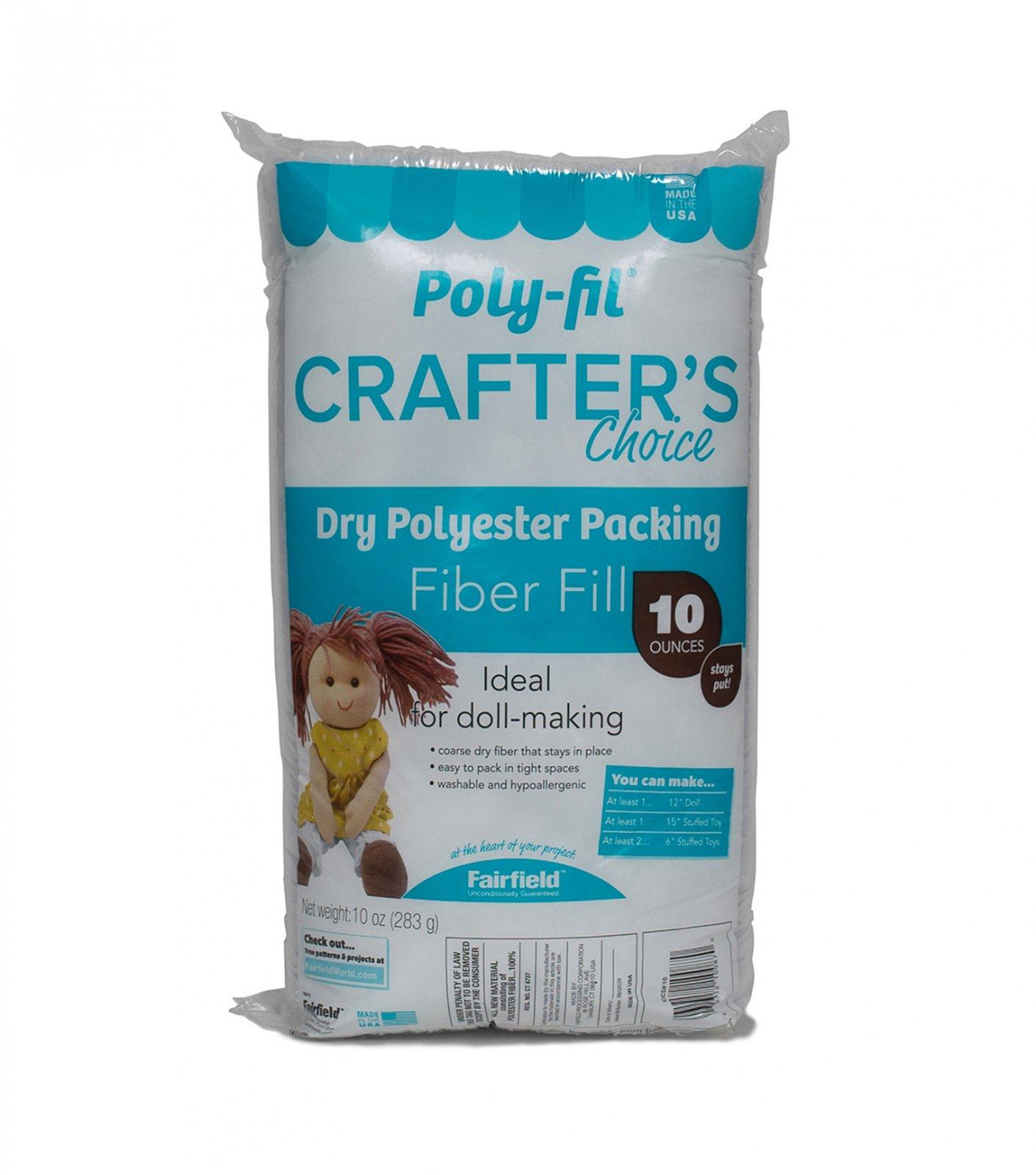 Crafters Fiberfill 10oz