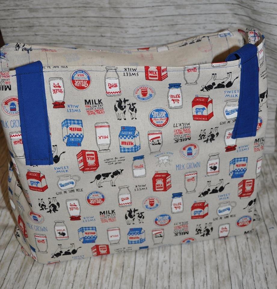 Dairy Cows Reusable Grocery Bag Kit