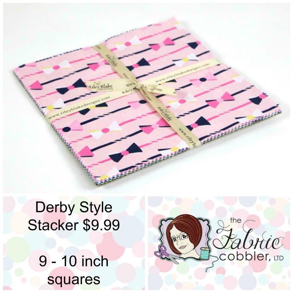 Derby Style 10 inch Stacker