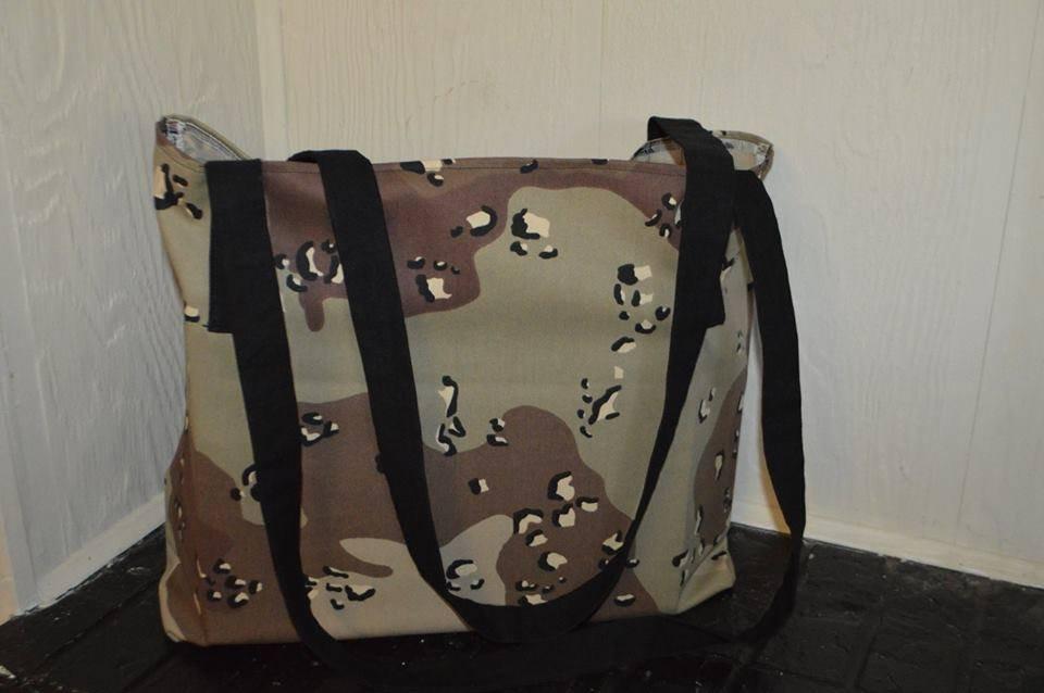 Camo Grocery Bag Kit