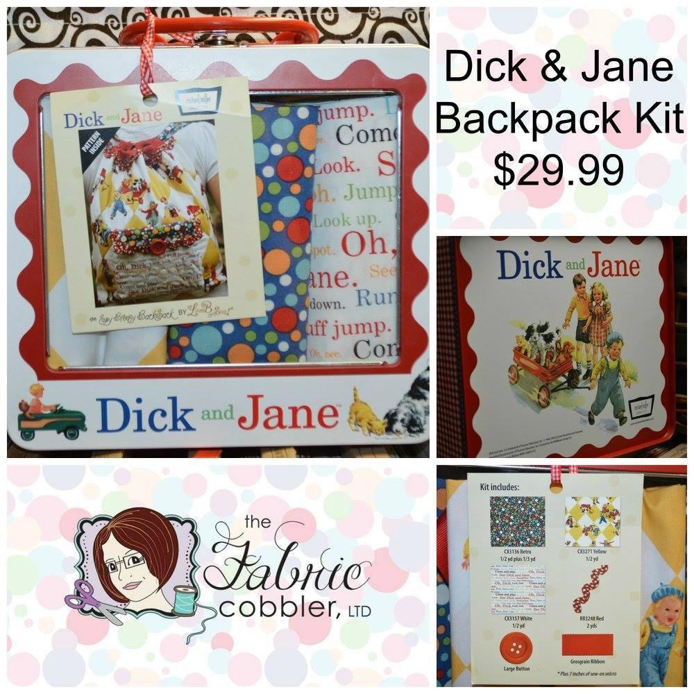 Dick & Jane Backpack Kit