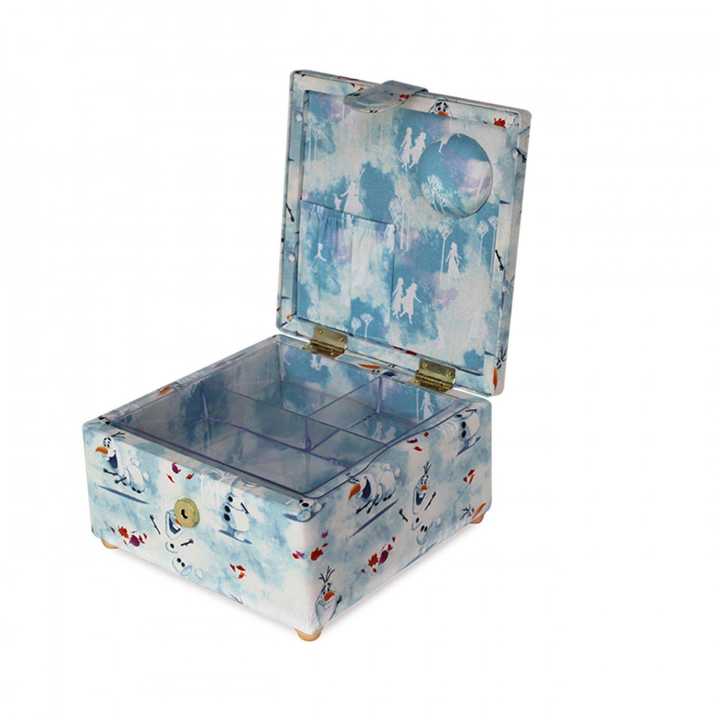 Disney Frozen 2, Small Olaf Sewing Basket 7-3/4 x 4-1/4 x 7-1/4in