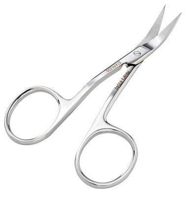 Double Curved Left Handed Scissors