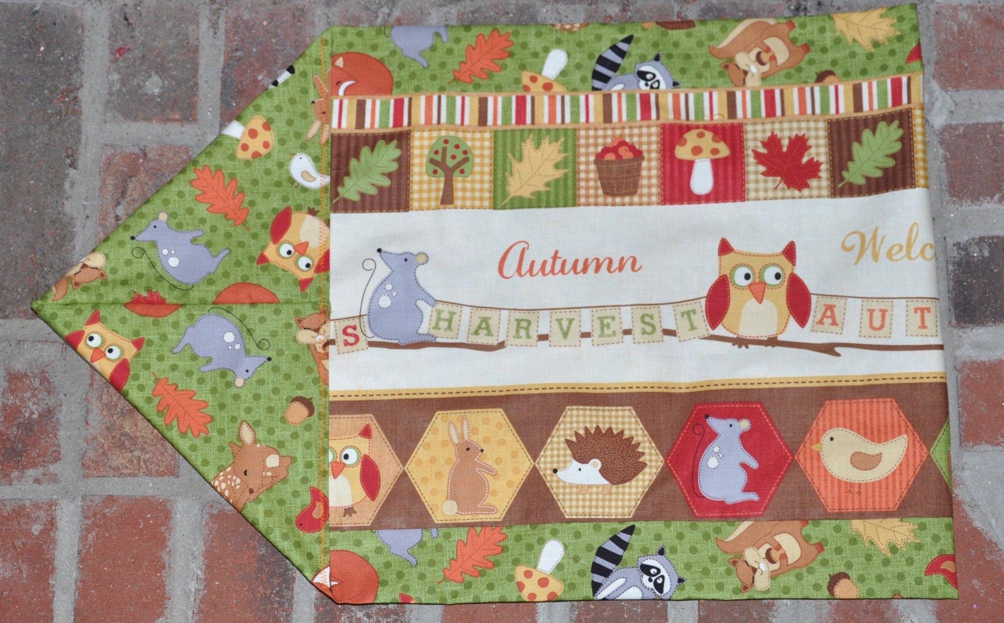 Autumn Welcome Ten Minute Table Runner Kit