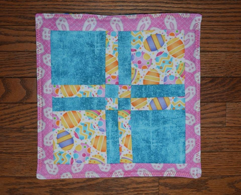 Easter Disappearing Four Patch Kit