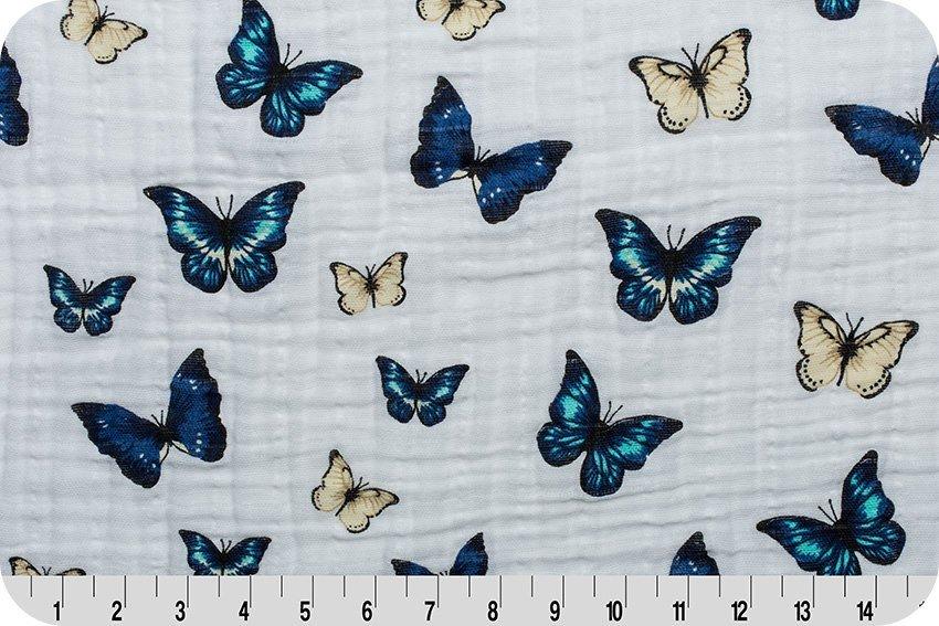 Embrace Les Papillons Royal SWADDLE CLOTH