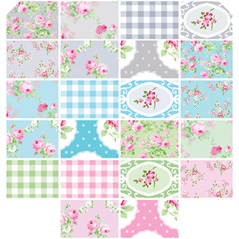 Free Spirit. Charlotte Design Roll 40 - 2 1/2 strips