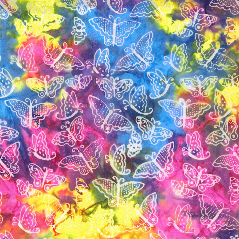 Batik Menagerie. Small Butterflies Multi BATIK
