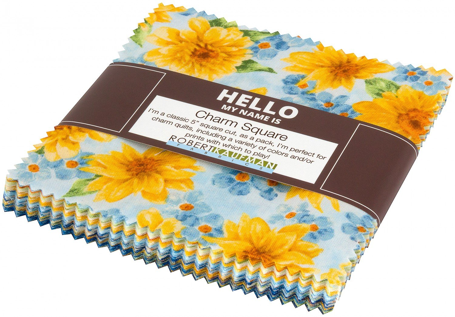 Gardenside Path. 5 inch Charm Squares 42 pieces