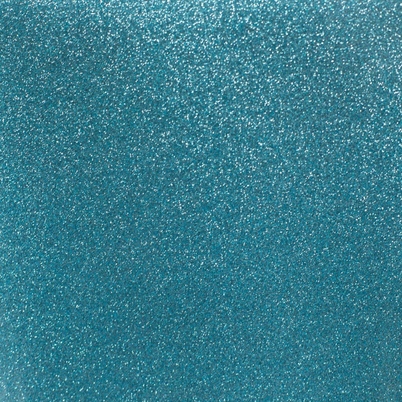 Glitter Mirror Vinyl Ice Blue 9 x 12 sheet