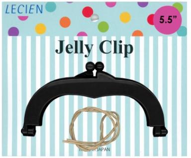 Jelly Clip 14 cm Black