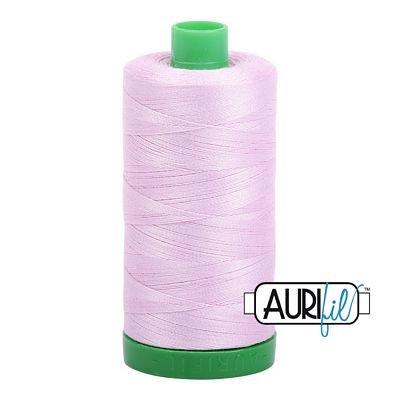 Light Lilac Cotton Mako Thread 40wt 1000m