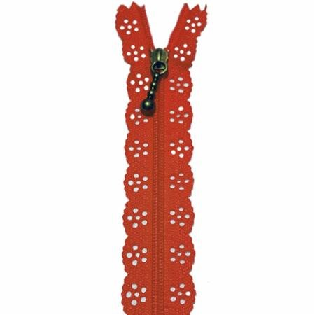 Little Lacie Zipper 12 inch Red