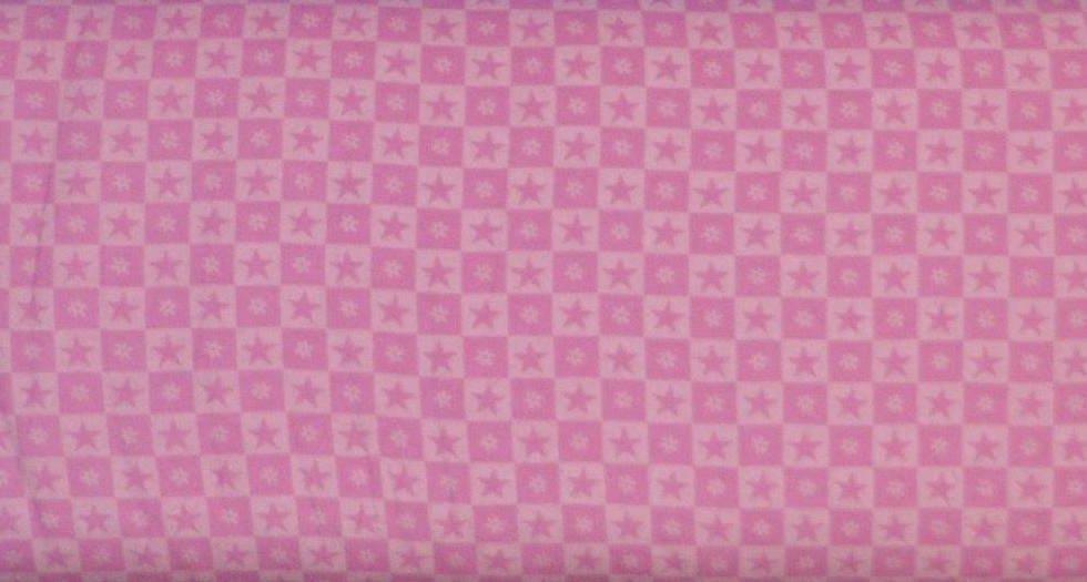 Little Princess Stars Pink FLANNEL