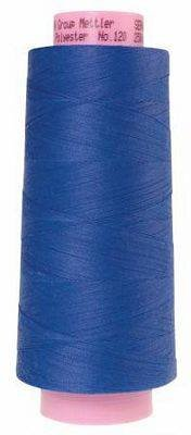 Mettler. Seracor Serger Thread, Cobalt Blue
