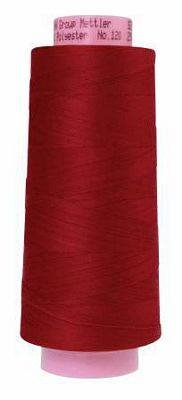 Mettler. Seracor Serger Thread, Country Red