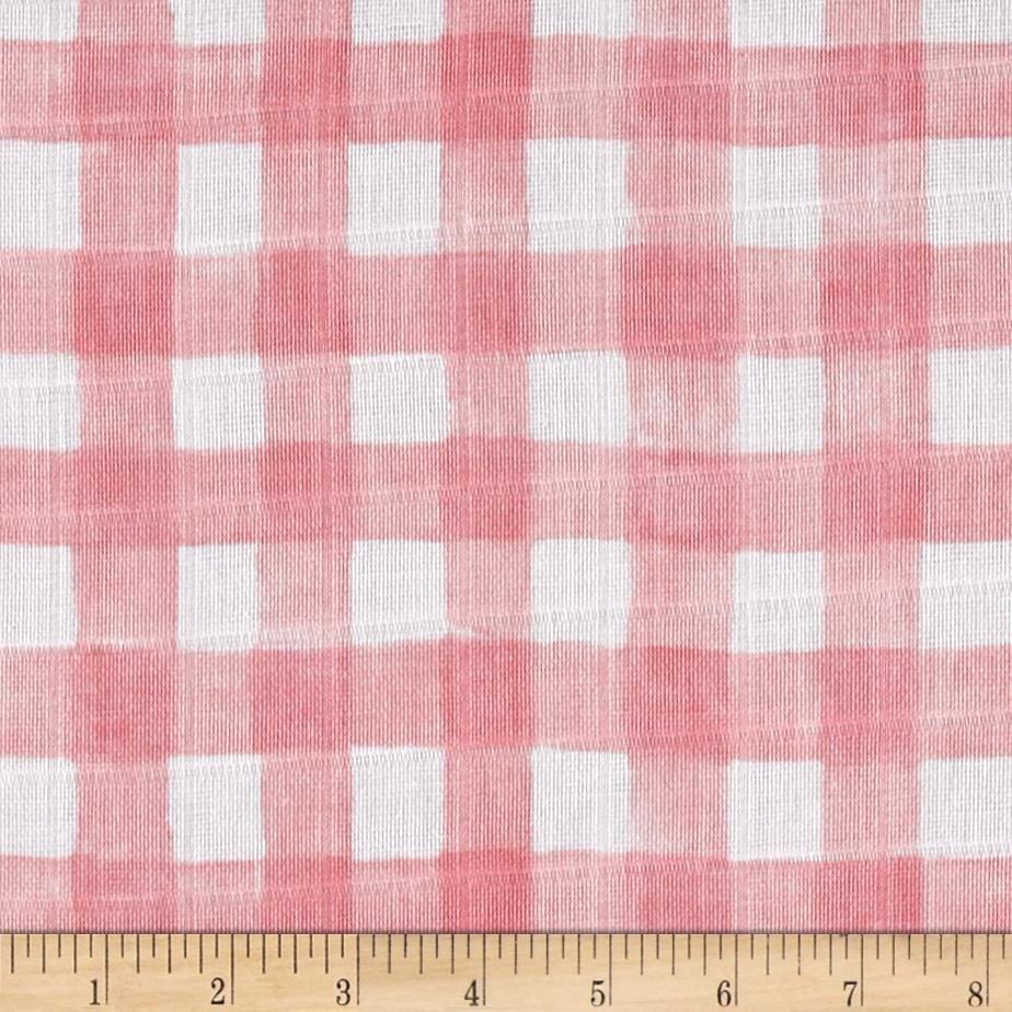 Mini Painted Gingham Blossom SWADDLE CLOTH