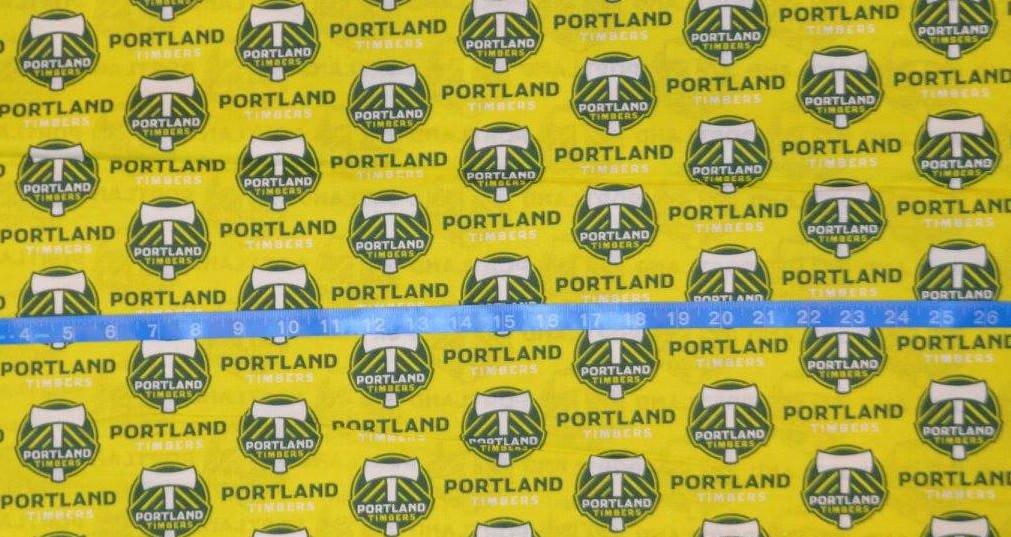 MLS Portland Timbers 58/60 wide
