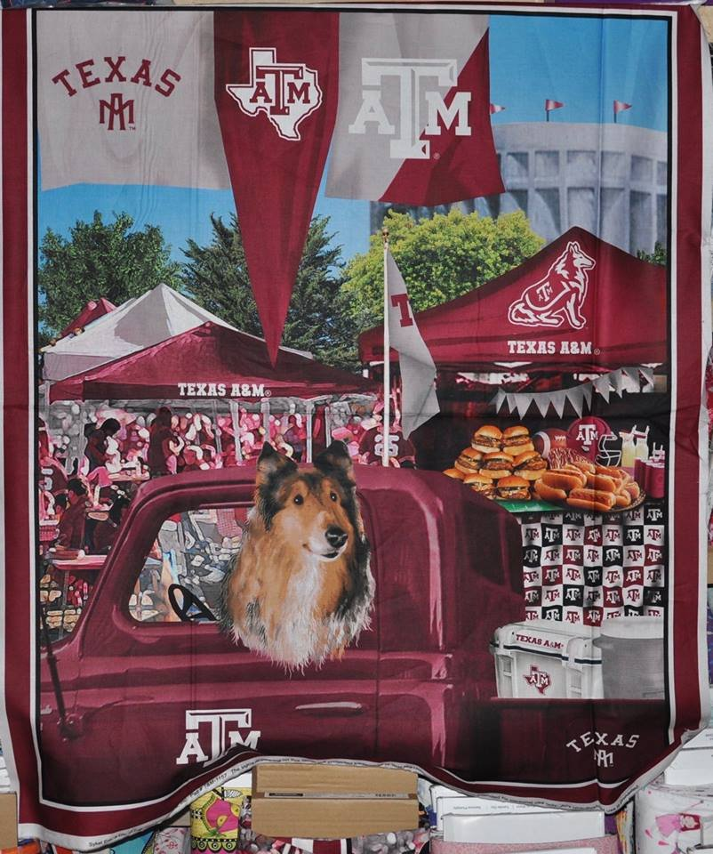 NCAA Texas A&M Tailgate Panel 36 inch Digitally Printed