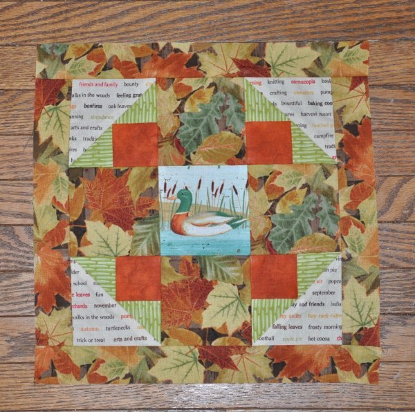 October Block of the Month Kit