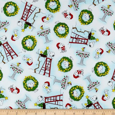 Snoopy And Woodstock Christmas.Peanuts Peace Love Joy Snoopy Woodstock Christmas Toss White