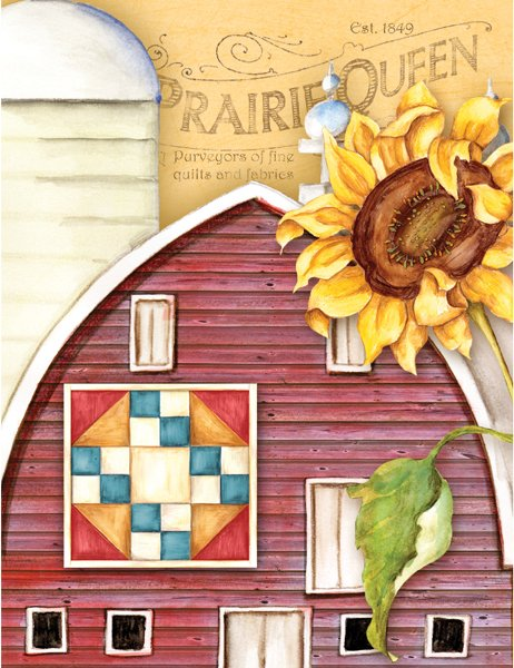 Prairie Queen Note Cards - Quilt Stationary PDQ
