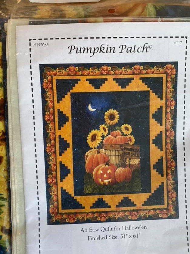 Pumpkin Patch Quilt Kit