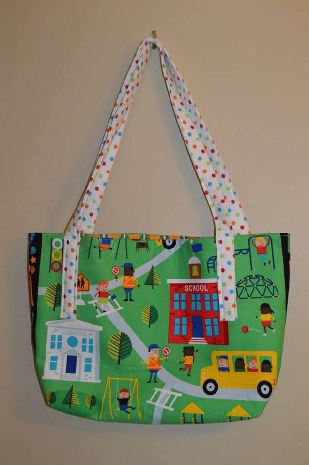 School Campus Tote Bag Kit