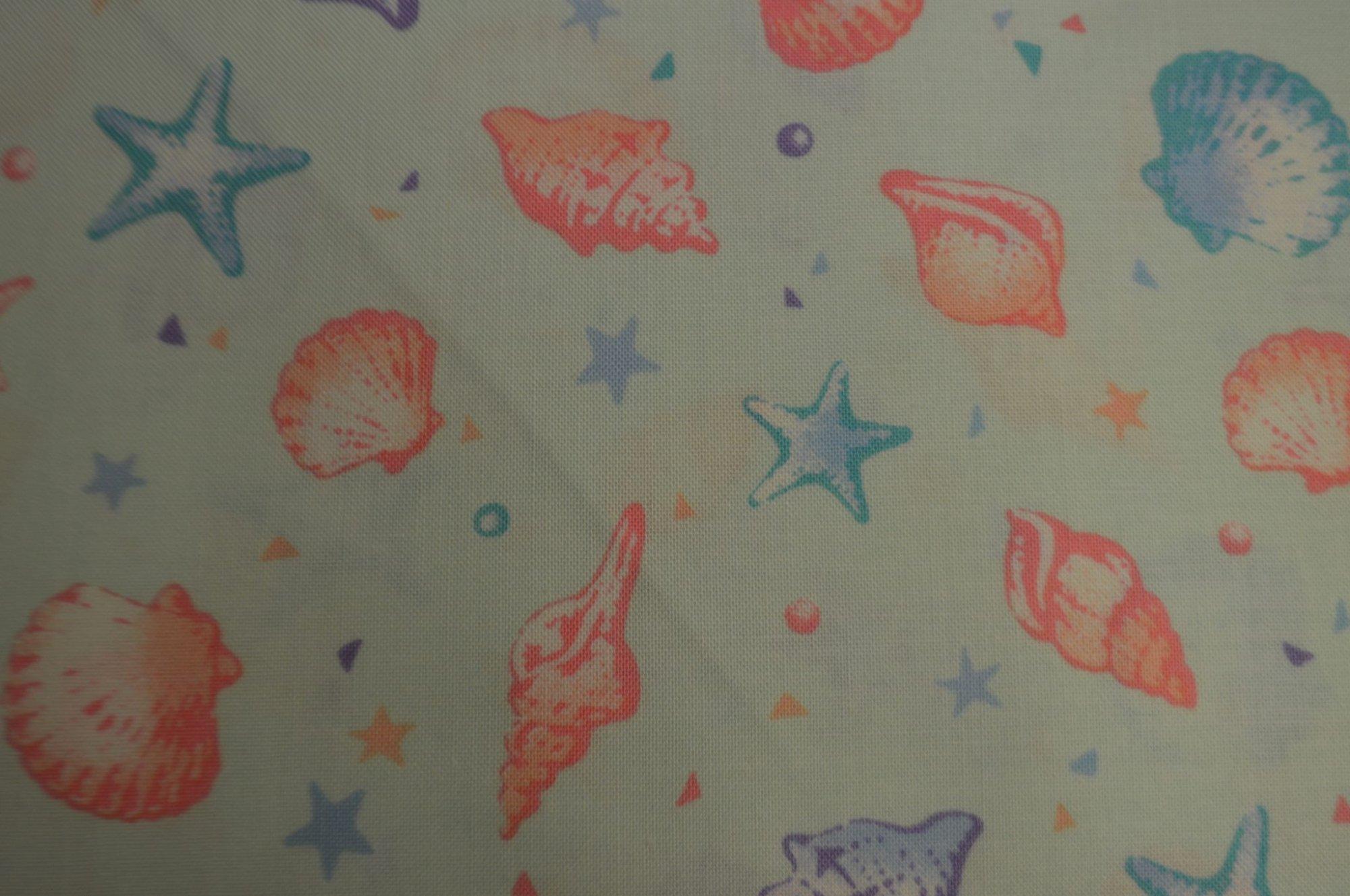 Cosmo Seashells & Starfish Mint