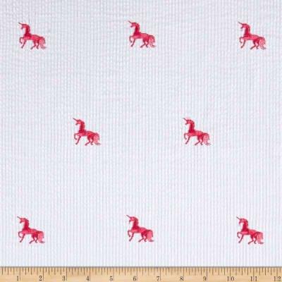 Seersucker Embroderies - Unicorn