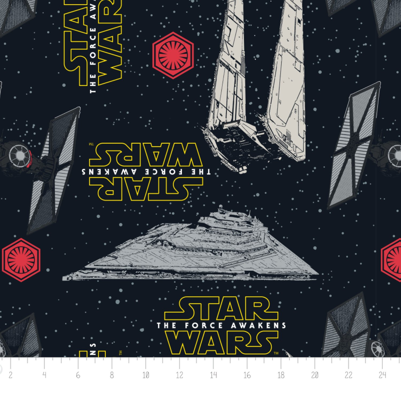 Star Wars Force Awakens Ships FLEECE