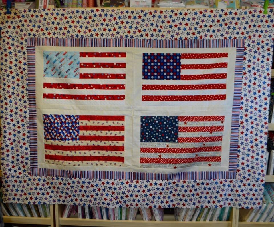 USA Picnic Quilt Kit