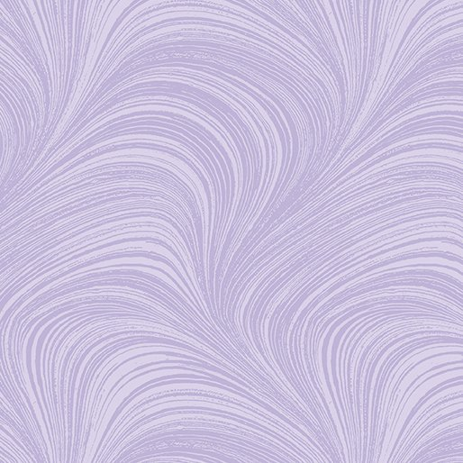 Wave Texture. Wide Quilt Back Purple - 108 Inch