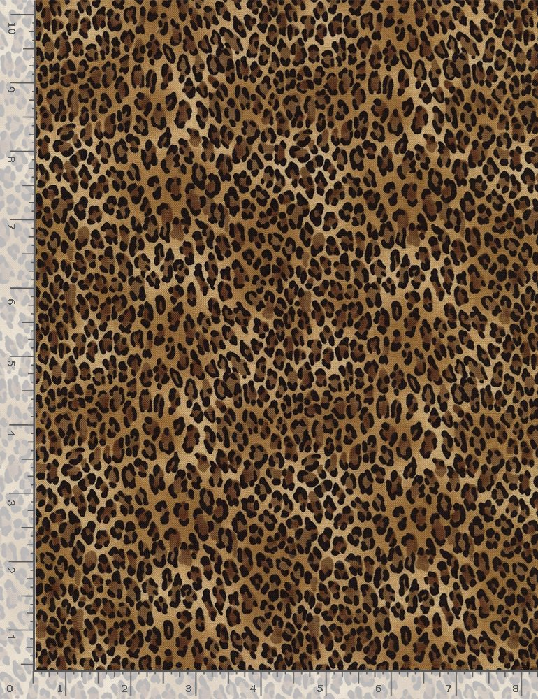 African Prints. Tiny Leopard Wild