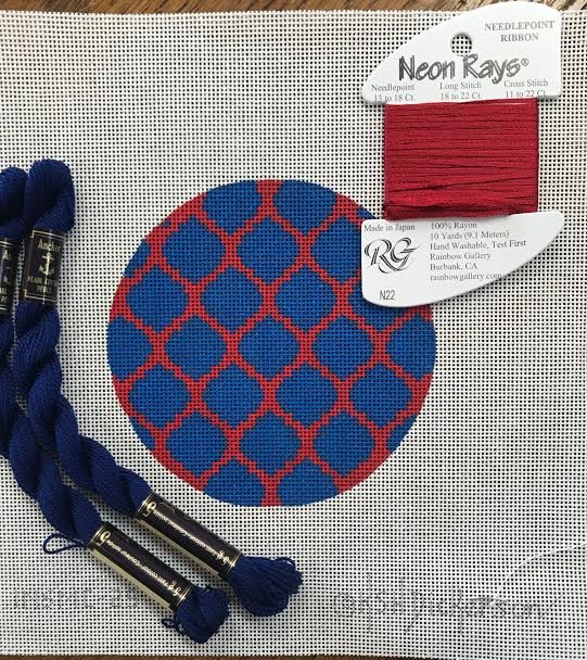Blue and Red Coaster Kit