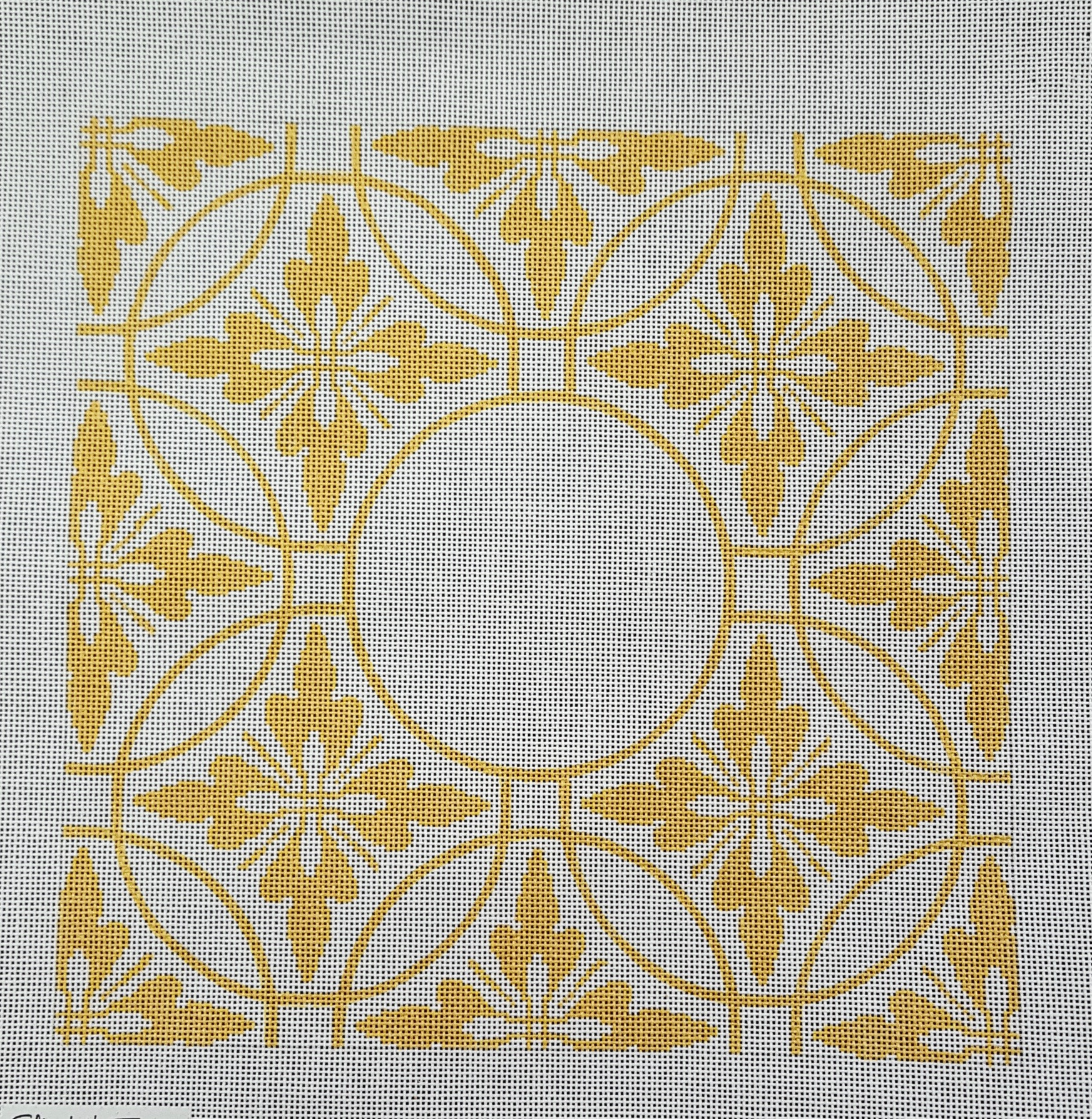 Gold Florentine- Monogram