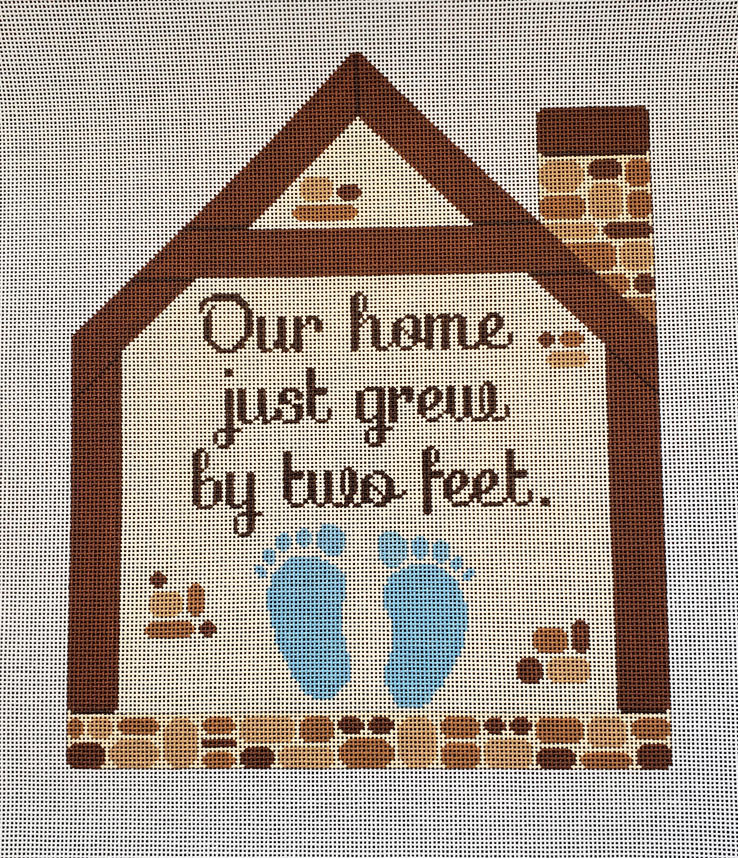 Our Home Just Grew by Two Feet - Boy
