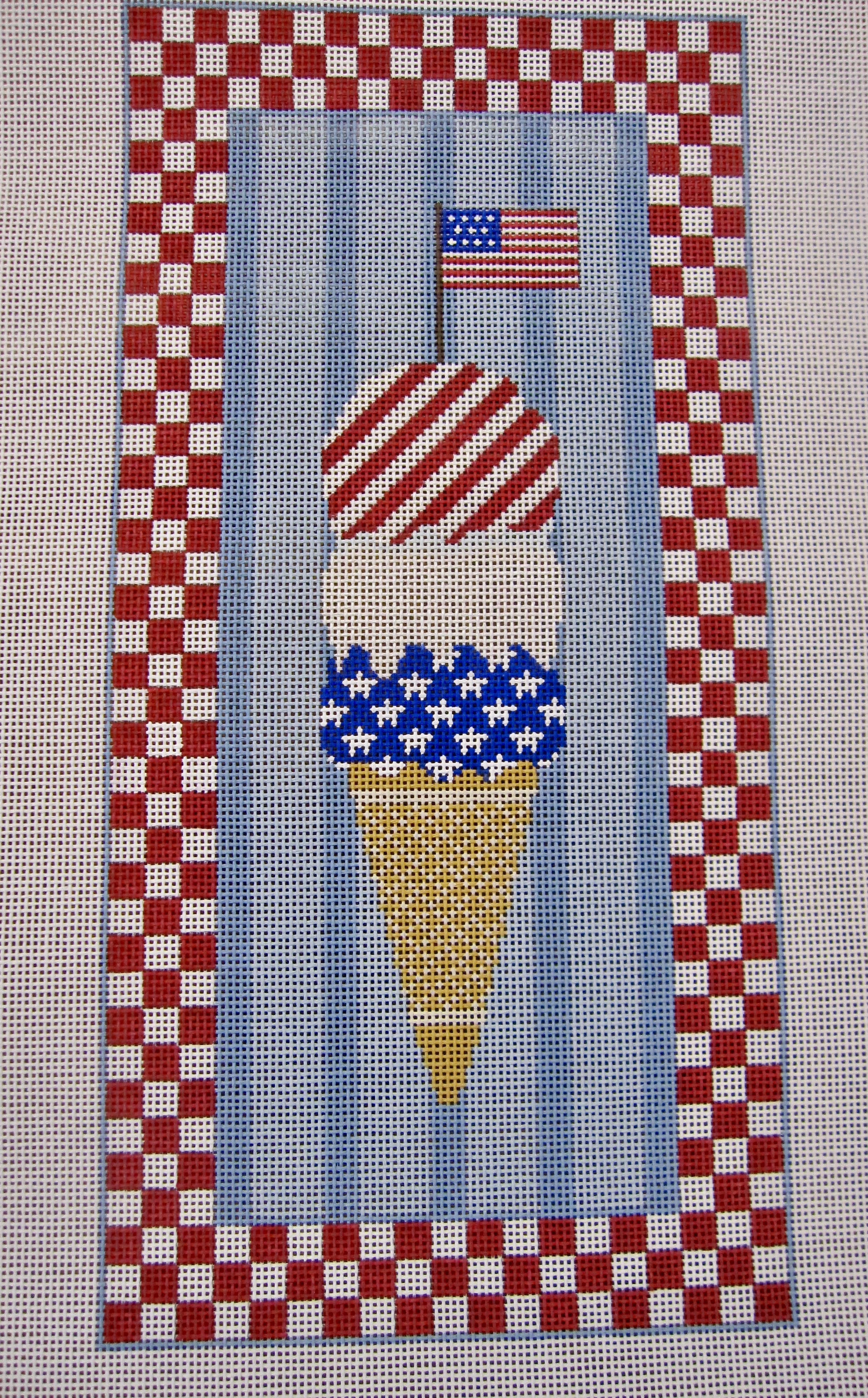 4Th of July Ice Cream Cone