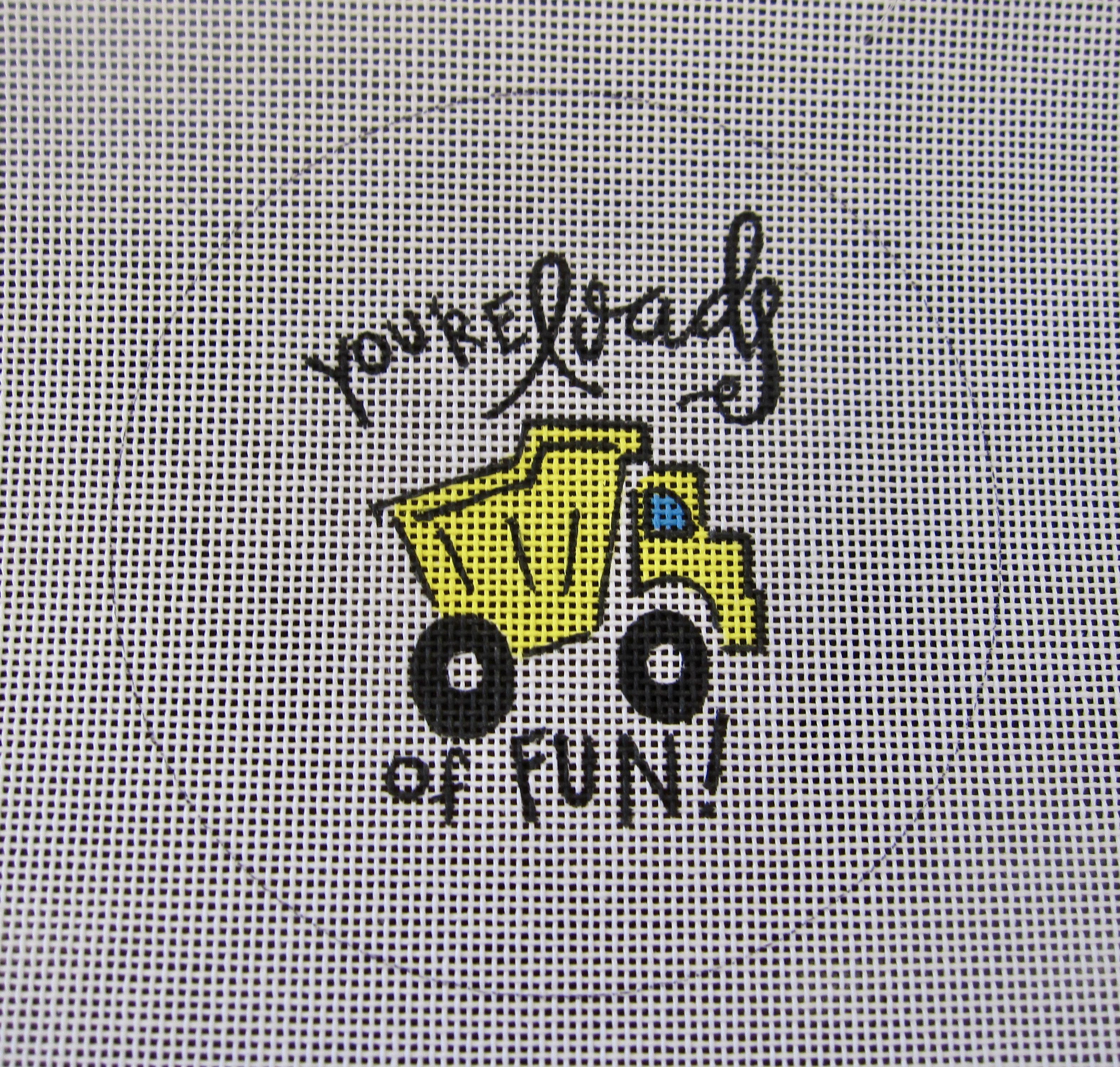 You're Loads of Fun truck ornament