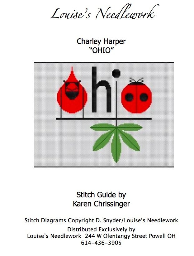 Charlie Harper Ohio Cardinals Stitch Guide