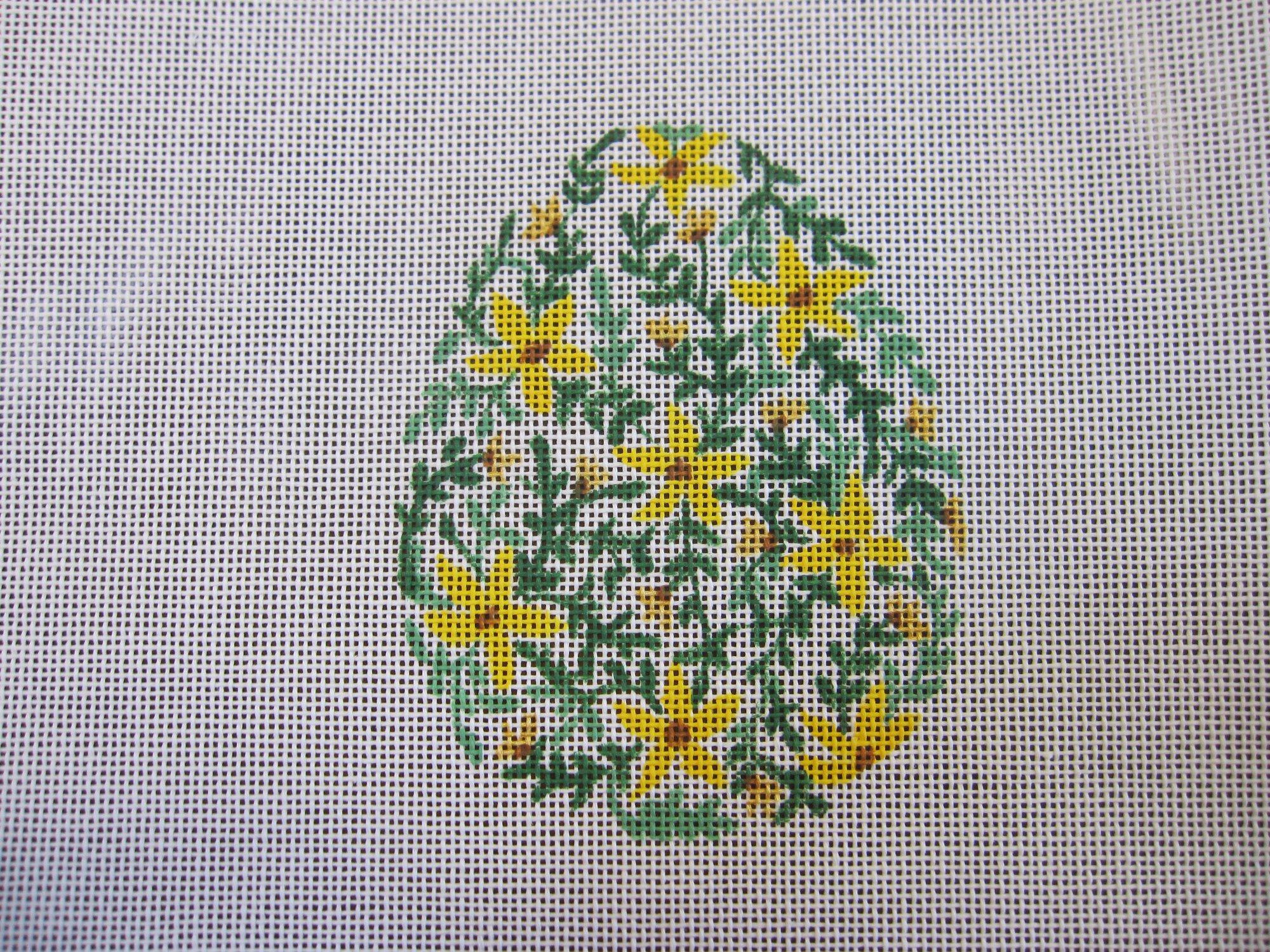 Easter Tulip Egg - Yellow