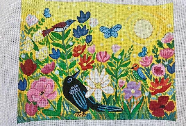Birds, Blooms, Butterflies