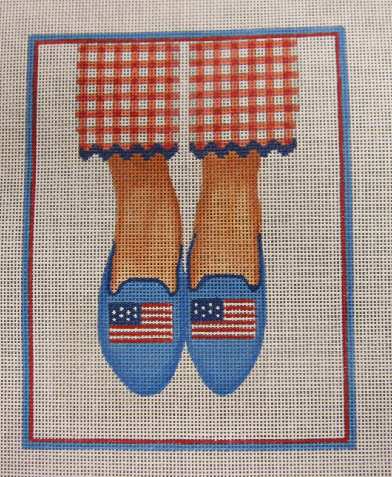 American Flag Loafers