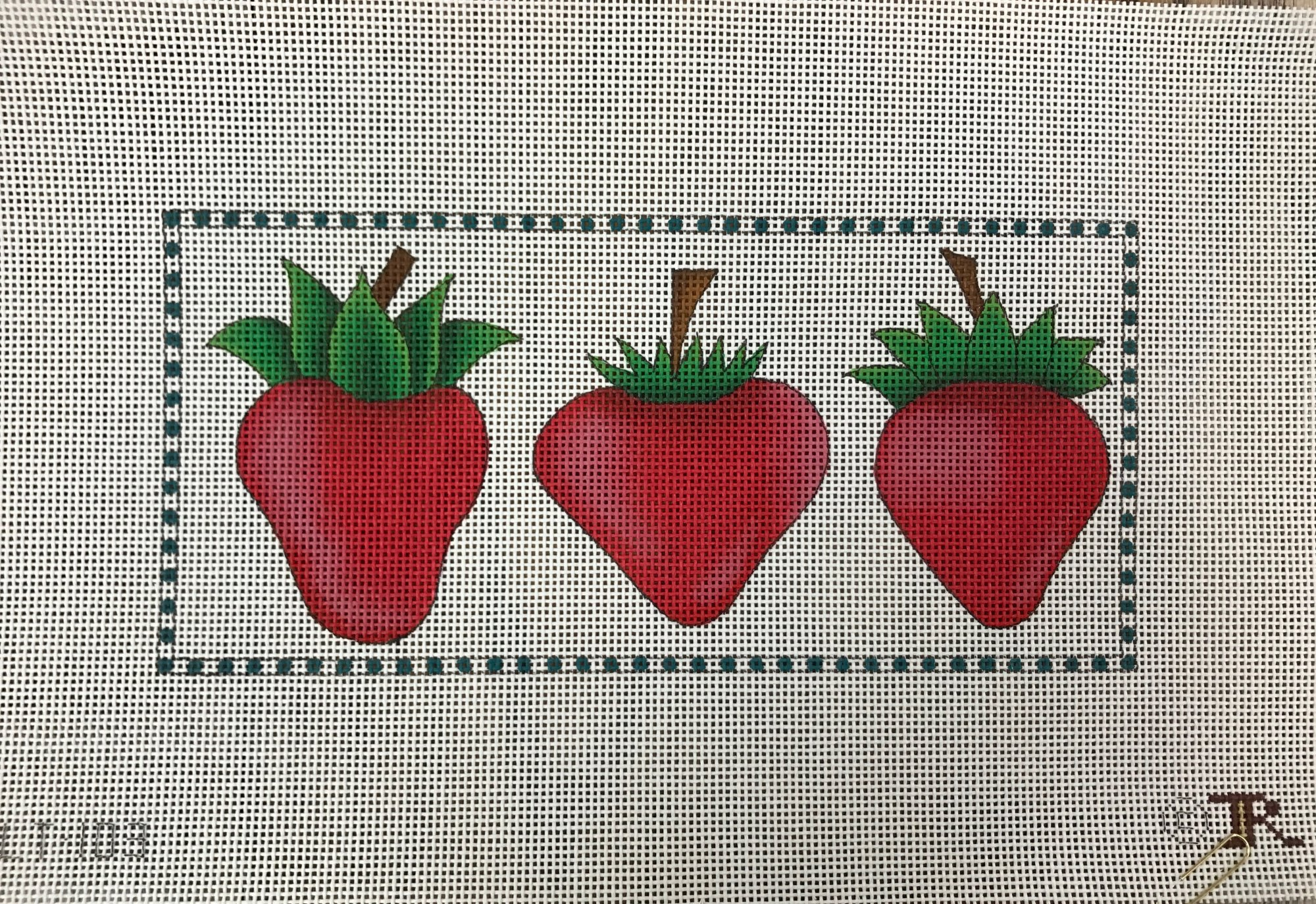 3 Little Strawberries
