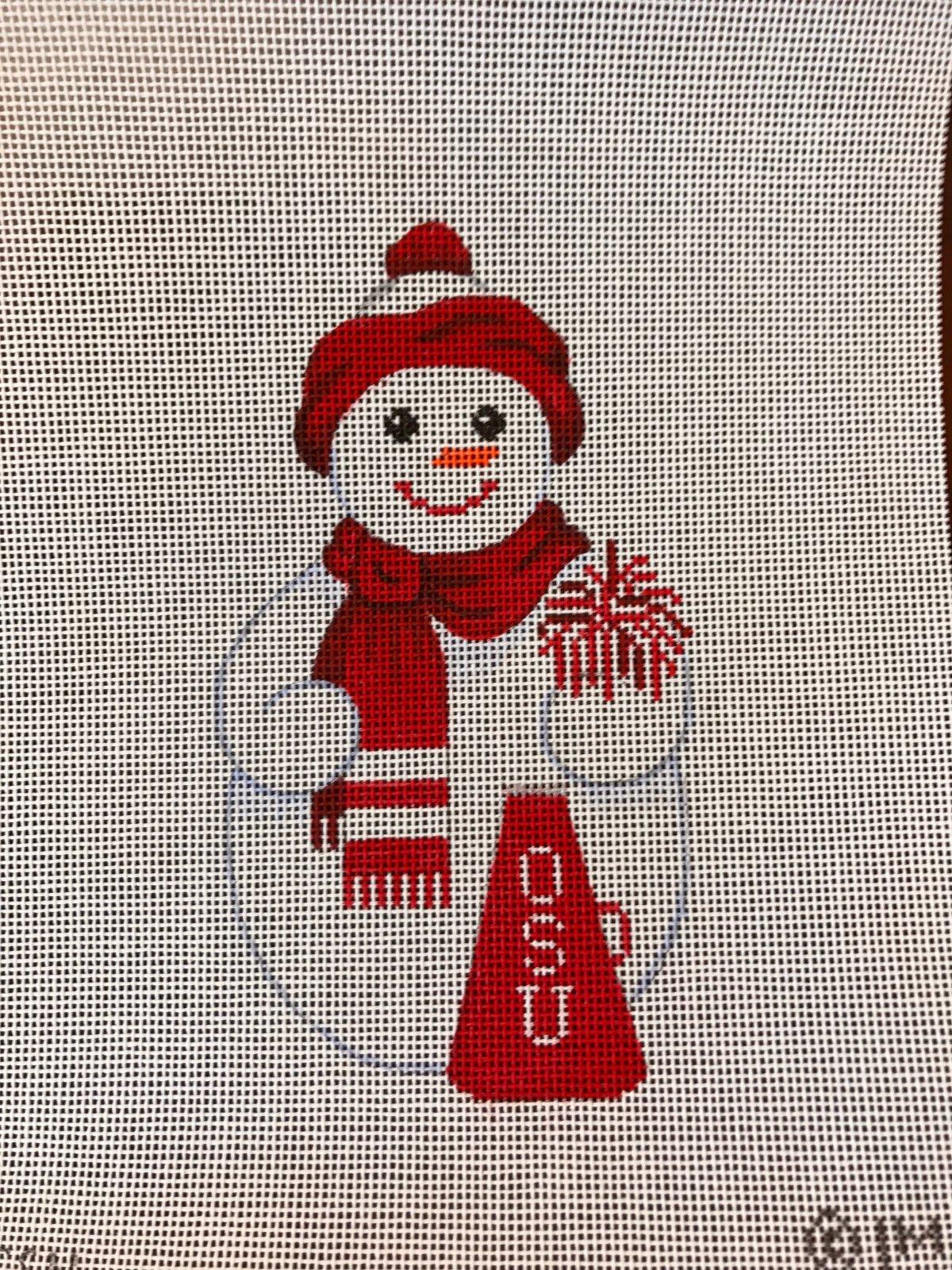 OSU snowman