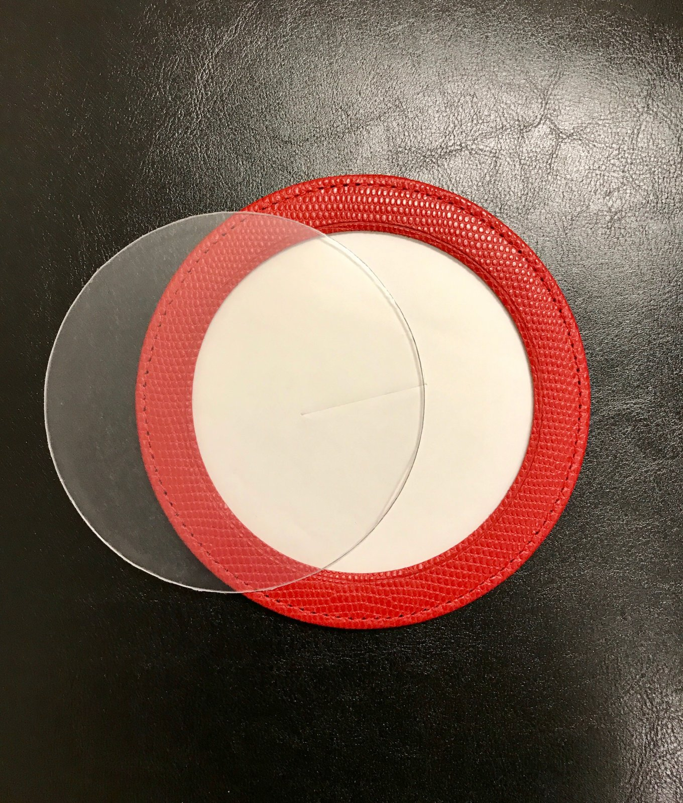 Red Magnetic Coaster